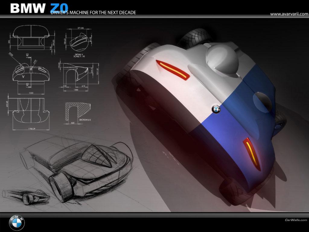 Bmw Z0 Concept 1024x768 B7 Tapety Na Pulpit Samochody