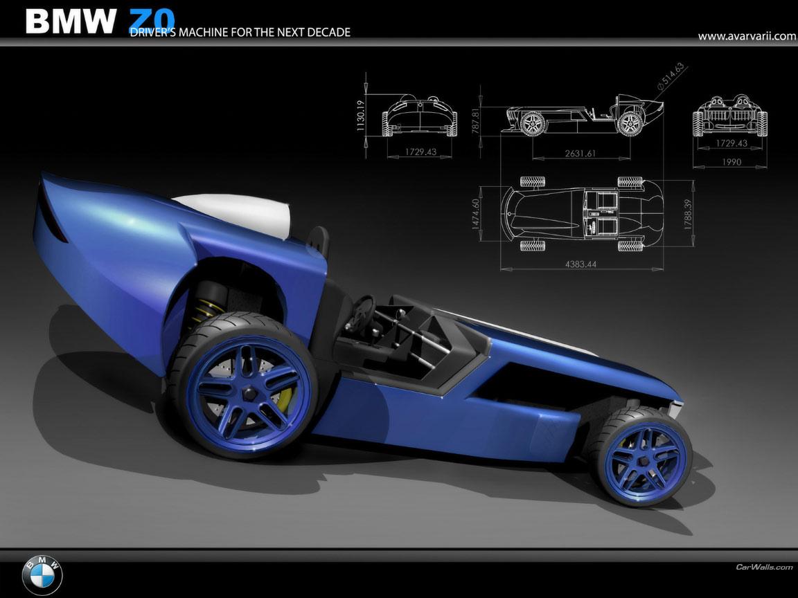 Bmw Z0 Concept 1152x864 B53 Tapety Na Pulpit Samochody