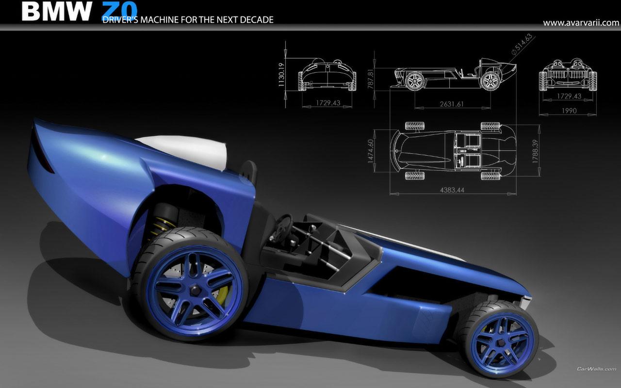 Bmw Z0 Concept 1280x800 B23 Tapety Na Pulpit Samochody Sportowe Luksusowe Supersamochody