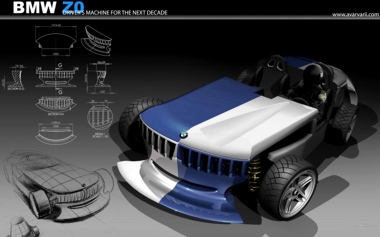Bmw Z0 Concept 1280x800 B42 Tapety Na Pulpit Samochody Sportowe Luksusowe Supersamochody