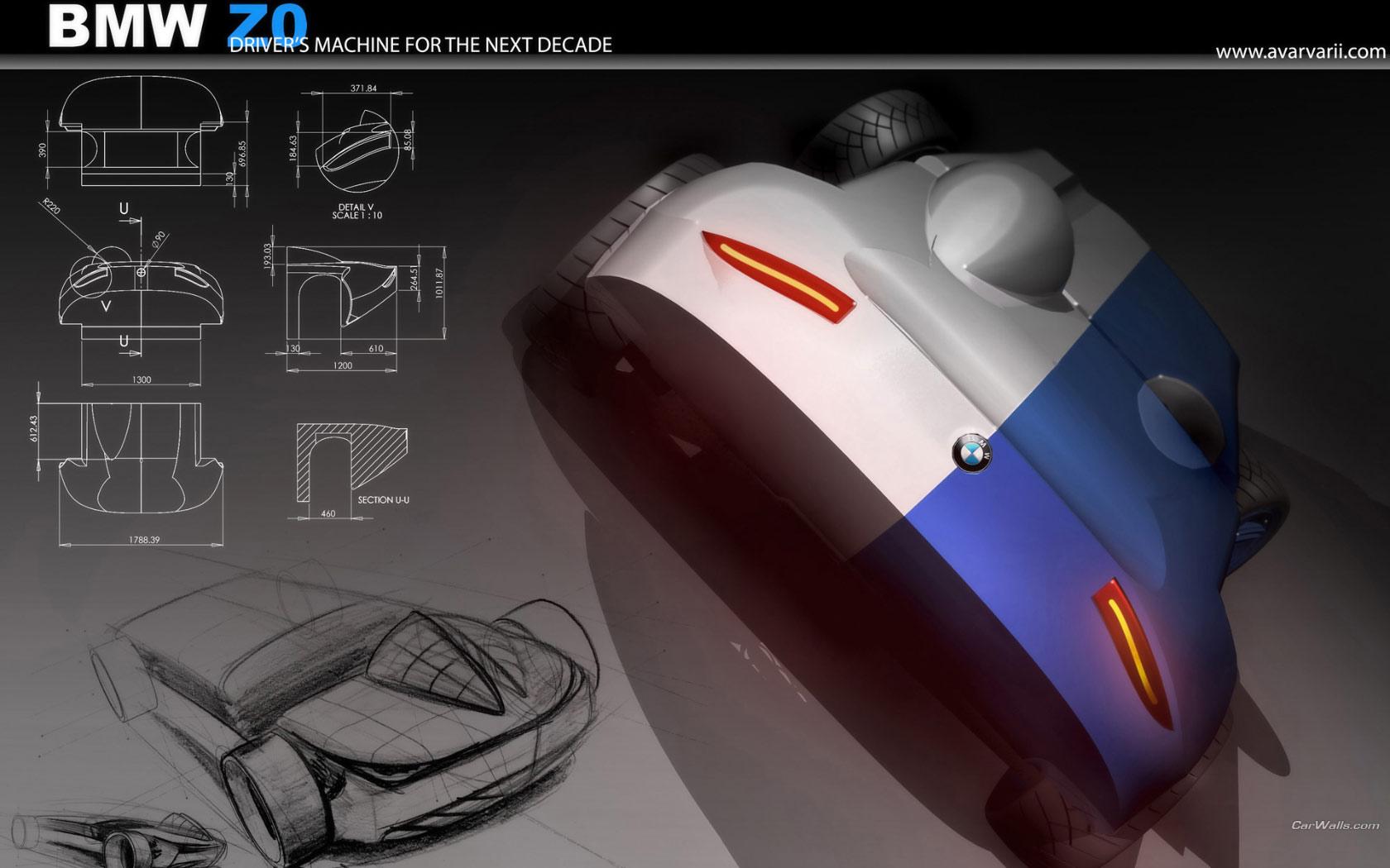 Bmw Z0 Concept 1680x1050 B12 Tapety Na Pulpit Samochody Sportowe Luksusowe Supersamochody