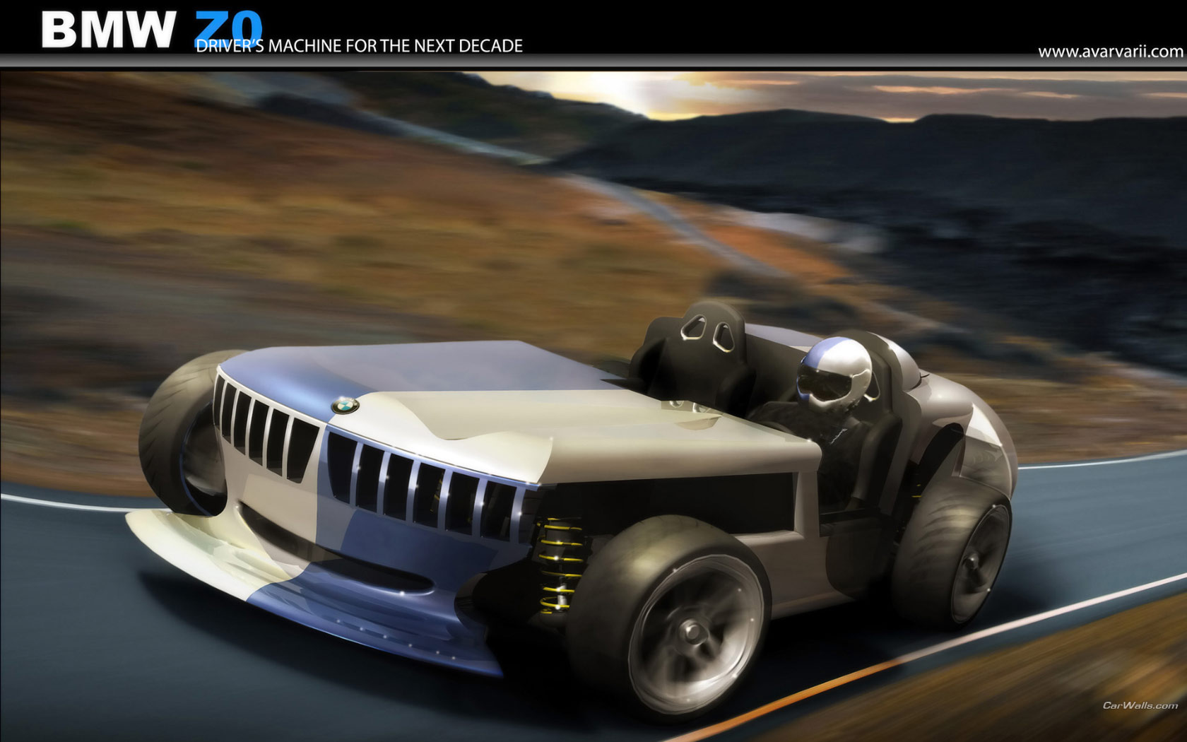 Bmw Z0 Concept 1680x1050 B38 Tapety Na Pulpit