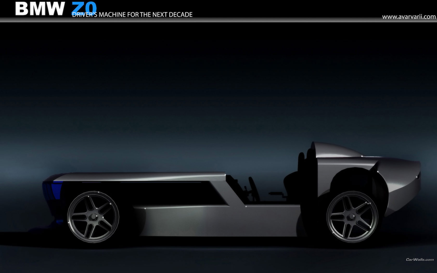 BMW Z0 Concept 1680x1050 b40 - Tapety na pulpit ...