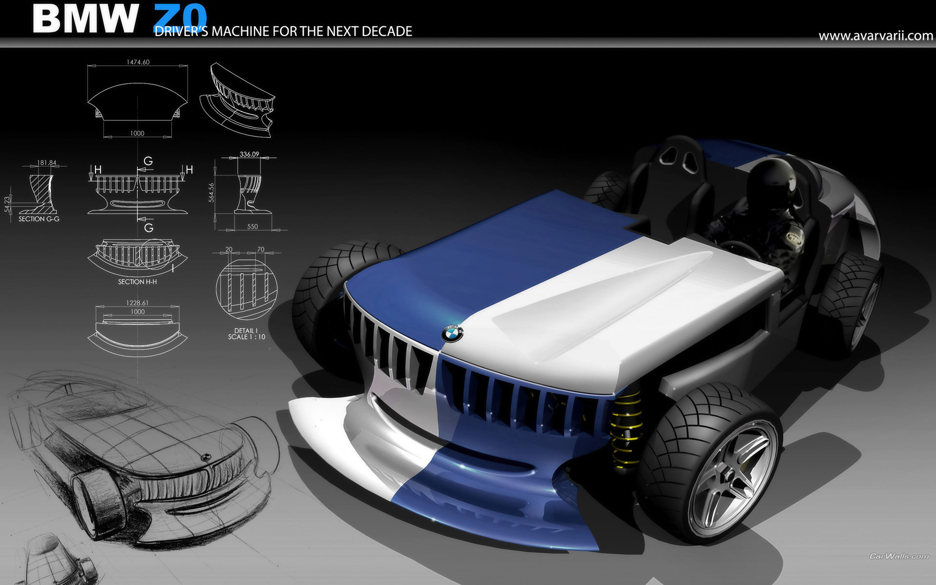 Bmw Z0 Concept 1920x1200 B32 Tapety Na Pulpit