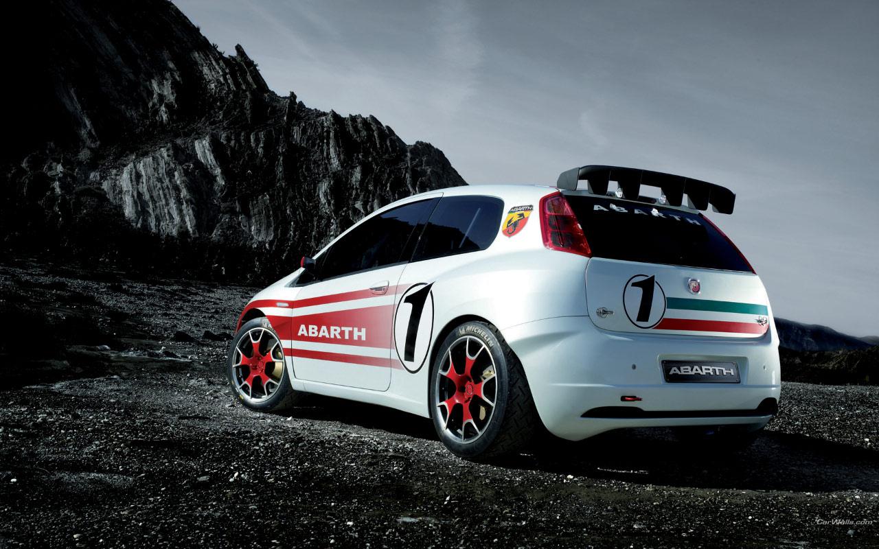 Fiat Grande Punto Abarth S2000 1280x800 B33 Tapety Na