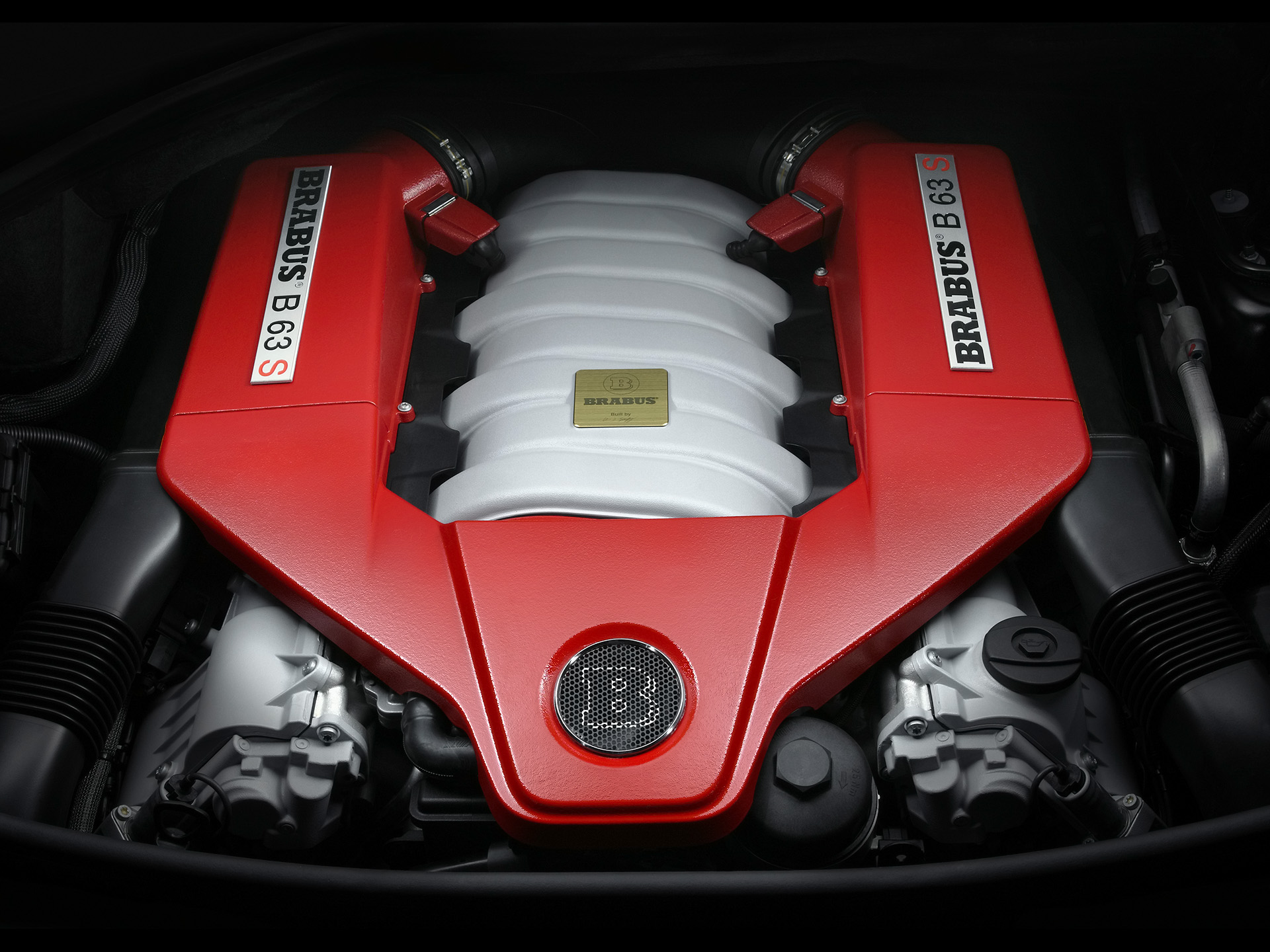 2007 Brabus B63 S Mercedes Benz 63 Amg Silnik 1920x1440