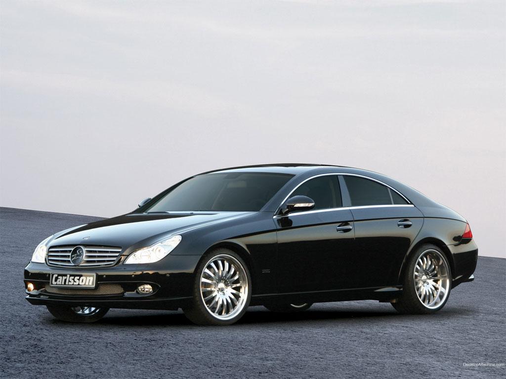 Mercedes Benz CLS 500 Black