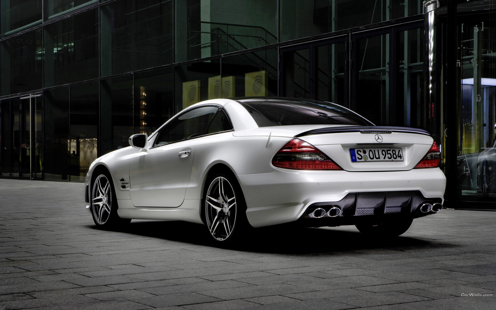Mercedes benz sl 63 amg 1680x1050 b89 tapety na pulpit for Mercedes benz sl 63 amg