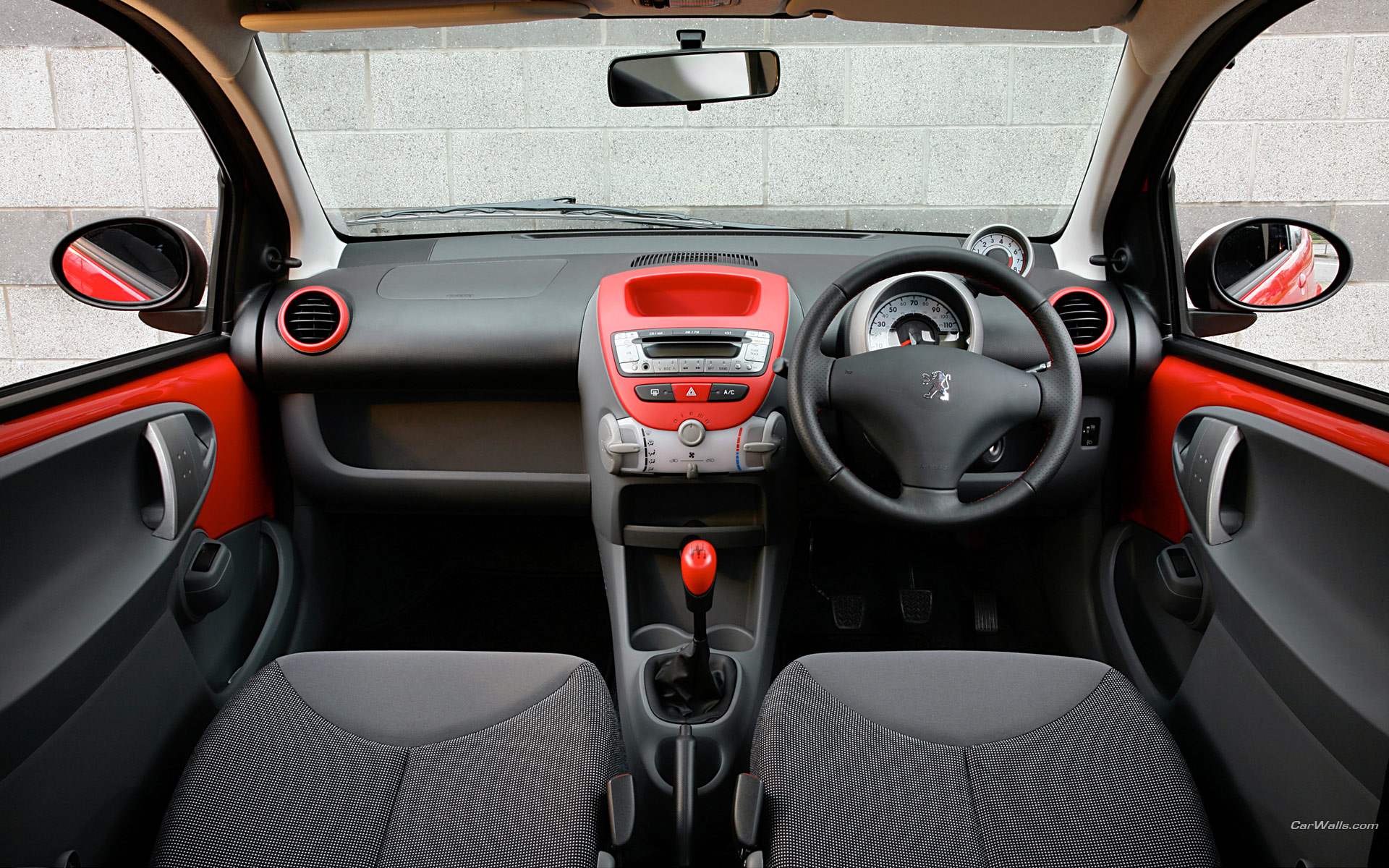 Peugeot 107 sport xs 1920x1200 b29 tapety na pulpit for Peugeot 107 interior