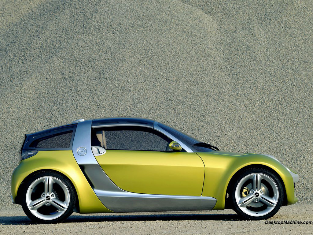 Smart Roadster Coupe 1024x768 B12 Tapety Na Pulpit