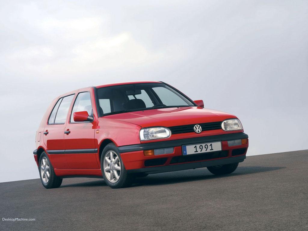 Volkswagen Golf III 1024x768 B6   Tapety Na Pulpit   Samochody