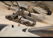 2008 Lamborghini Reventon vs Tornado Jet Fighter